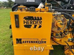 Herder Mastenbroek Hedge Cutter Trimmer & Scie Circulaire Avec 2 Lames £5500 + Tva
