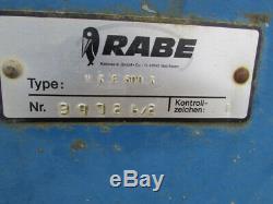 Herse Rotative Rabewerk Vke 6 Mètres Extra-robuste