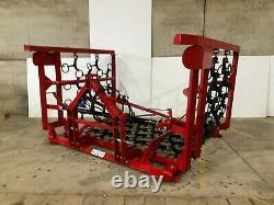 Herses Hydrauliques À Chaîne Hydraulique D'herbe De Pâturage Montée De Tracteur Lourd À Partir De £1295 +tva