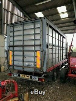 Houghtons Corps De Transport De Camion De Bétail Pour Moutons Ou De Bovins