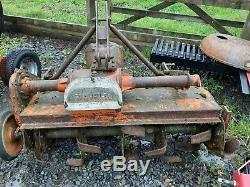 Howard Selectatilth Rotavator 40 Tracteur Driven Pto Heavy Duty