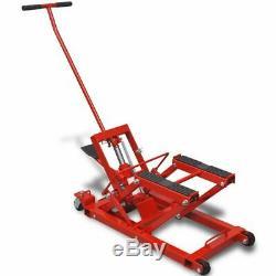 Hydraulique Voiture / Tracteur / Moto / Vtt Jack 680 KG D'acier De Fonte Heavy Duty Garage