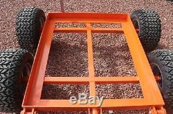 Ibc Remorque Eau Lourde 4 Roues Eau Tractable Vtt Bowser Par Rock Machines