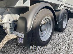 Ifor Williams Lm105 General Heavy Duty Drop Side Twin Axle Remorque Immaculée
