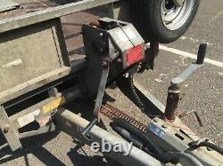 Ifor Williams Lm125ghd Flat Bed Trailer Heavy Duty 3500kg Rampes