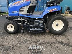Iseki Diesel Sxg Robuste Tracteur Tondeuse, 54po Pont Iseki Mulching, Hydro, Vgc