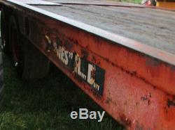 Jones Robuste Hyd Tilt-lit Lowloader Remorque, 24ft