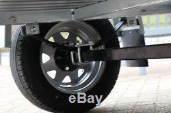 Kirby Trailers Heavy Duty Usine Galvanisé Utility Box Car Trailer