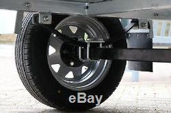 Kirbytrailers De Cage & Ramped Heavy Duty Galvanisé Utility Box Car Trailer