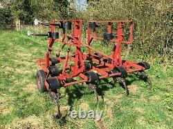 Kongskilde Vibroflex 3.4m Cultivateur Heavy Duty, No Vat, Excellent État