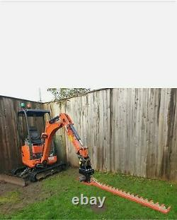 Kubota Digger Hedge Cutter, Barre De Doigt Hydraulique, Large 1.8m, Duty Heavy, Non Vat