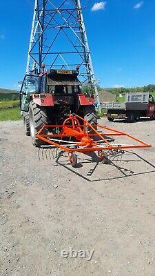 Kuhn Single Rota Hay Rake, Turner