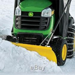 Lame De Chasse-neige Avant Tracteurs En Acier Robuste Résistant À La Rouille En Poudre Coated