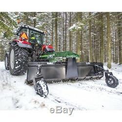 Lame De Grattoir Pour Bulldozer Kellfri Heavy Duty, 2,7 Mtr, Chasse-neige 3pl £ 1850 + Tva