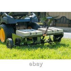 Lawn Aerator Core Plug Aerator Remorquage Derrière La Tondeuse Tracteur Heavy Duty USA Nouveau