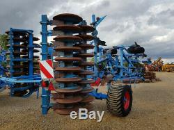 Lemken Karat 9-400 Traîné Heavy Duty Déchaumeur 2011, 4 Mètres