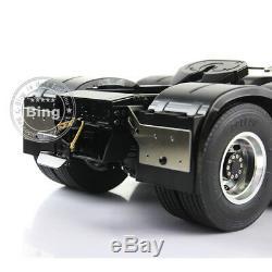 Lesu 1/14 Benz 3363 Rc 88 En Métal Robuste Châssis Pour Tracteur De Camion Modèle De Voiture