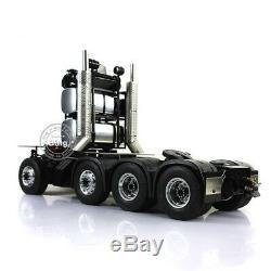 Lesu 1/14 Benz 3363 Rc 88 En Métal Robuste Châssis Pour Tracteur Modèle De Camion