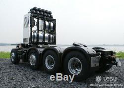 Lesu 1/14 Scania R620 Rc Châssis Robuste 4 Essieux Pour Modèle De Camion Tracteur
