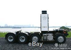 Lesu 1/14 Scania R620 Rc Robuste Châssis 4 Essieux Pour Camion Tracteur Modèle De Voiture