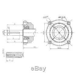 Lf200s-pro 6.5hp Lifan Heavy Duty Moteur À Essence Remplace Gx160 Gx200 Arbre De 20 MM