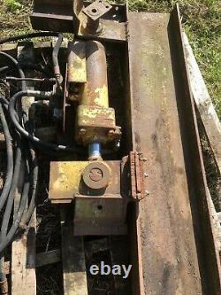 Log Spilter Splitter Hydraulique Tracteur Hydraulique Sans Tva