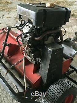 Logic Mfg 300 Rotobroyeur / Topper Avec Eletric Démarrer