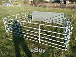 Lourds Obstacles De Mouton Galvanisé Et Porte