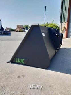 Lwc Heavy Duty Telehandler Godet 2.3m 1m3 À Partir De £ 845 + Tva Jcb Manitou Merlo