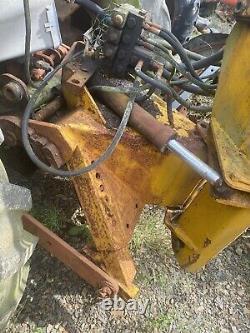 Mcconnel Hy Reach Tractor Hedge Cutter Contrôle Électrique Tête Lourde