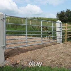Metal Heavy Duty Galvanised Farm Gate Bolt 10' Pied Nouveau
