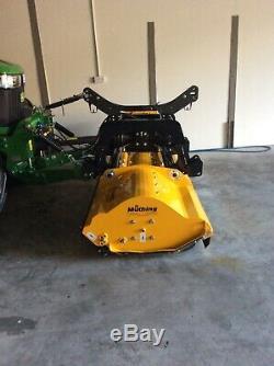 Muthing Mul 250 Herbe Rotobroyeur Cutter Tracteur John Deere Massey Ferguson