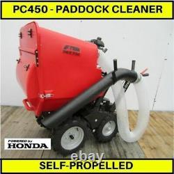 Nettoyeur De Paddocks, Paddock Vacuum, Poo Picker, Paddock Sweeper, Horse Poo Vac