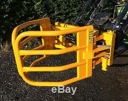 New 2018 Chariot À Balles Rondes Robuste, Grab, Gripple, Tracteur Euro 8 Supports