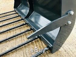 New Euro 8 Muck Grab, Choix De Tailles Pour Tracteur En Forme, Massey, John Deere, Seau