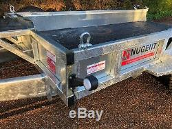 New Nugent Heavy Duty Usine P3116h Remorque 10'3x5'3 Rampe Layon, 3500kg