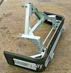 Nouveau Galvanized Robuste Yard Muck Chargeurs Compacts Brosse Bobcat Montée, Tracteur