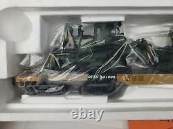 Nouveau Premier Mth 20-98378 47' Ttx Robuste Plat Voiture Avec 2 D8r Militaire Tracteurs