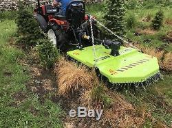 Nouveau Tracteur Compact Niubo Pasture Topper De 4 Pieds. Heavy Duty Non Fabriqué En Chine