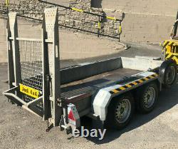Nugent Heavy Duty Usine Trailer Rampe Layon, 2700kg Led