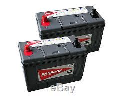 Paire De Wagons À Tracteurs Commerciaux Lourds Type 644 À Batterie Commerciale 1000cca