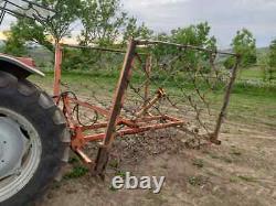 Parchemin Tracteur 3pl Monté 16ft Chaîne Hydraulique Pliante Herses