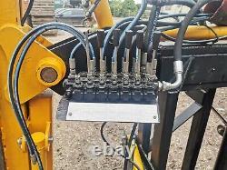Post Knocker (bryce Suma) & Quickfencer Combinaison Tracteur Monté