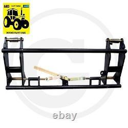 Quick Change Frame Euro Bracket Tracteur Telehandler Loader Livraison Gratuite