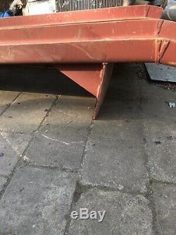 Rampes De Chargement De Service En Acier Lourd Dumper Voiture Tracteur