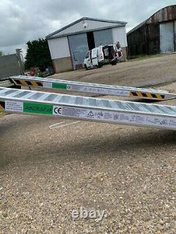 Rampes De Chargement En Aluminium 4 Ton Lourd 2,5m Longue Paire, Collection Option