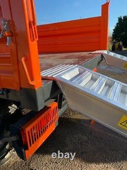 Rampes De Chargement En Aluminium 4 Ton Lourd 2,5m Longue Paire, Y Compris Tva Et Livraison