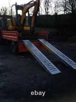 Rampes De Remorque De 6 Tonnes Lourdes (pair) De Jacksta Plant Tractor Digger Inc Tva