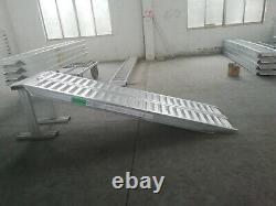Rampes En Aluminium 6 Ton Heavy Duty 3m Long Paire, Comprend La Tva Et La Livraison