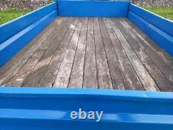 Remorque 12ftx 7ft 5/6 Tonnes À Bascule Simple Essieu